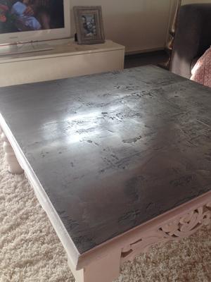 oliver`s werkstatt tischplatten mit metall beschichten