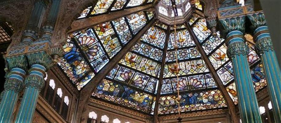 Die Glaskuppel des Hochzeitspavillon (Internet Foto)
