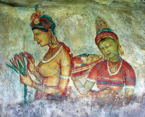 ...berühmten Fresken..