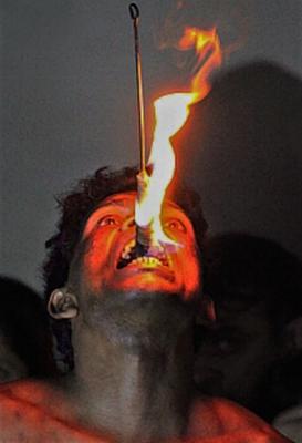 Der Feuerschlucker