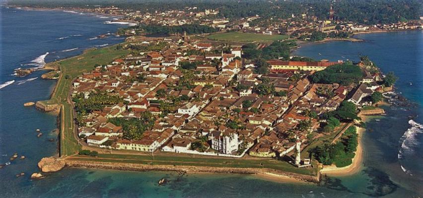 Das Fort von Galle (Foto vom Internet)