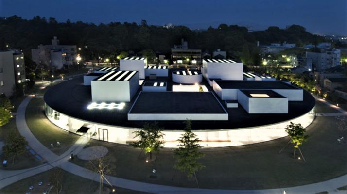 Das runde Kunstmuseum (Foto aus dem Internet)