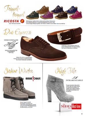 Minnetonka Moccasin//The Shoes Magazine 1/2015