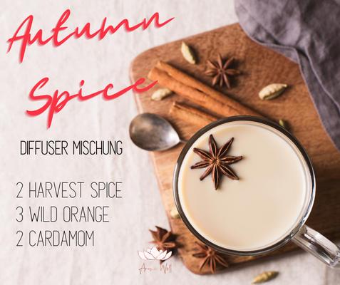 Aroma Welt: doTERRA Harvest Spice Wild Orange Cardamom Diffuser Mischung - Diffuser Rezepte