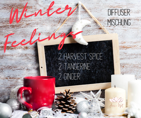 Aroma Welt: doTERRA Harvest Spice Tangerine Ginger Diffuser Mischung - Diffuser Rezepte