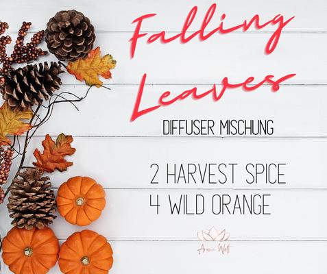 Aroma Welt: doTERRA Harvest Spice Wild Orange Diffuser Mischung - Diffuser Rezepte