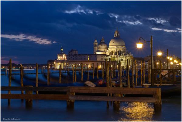 Ora blu a Venezia
