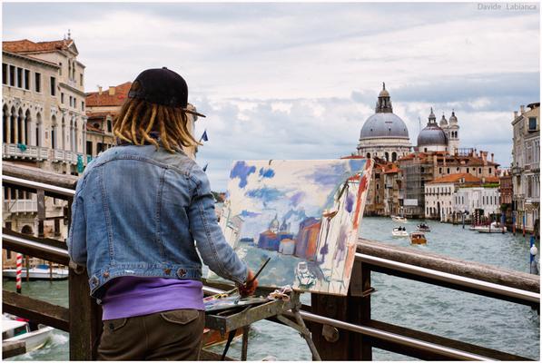 Pittrice a venezia