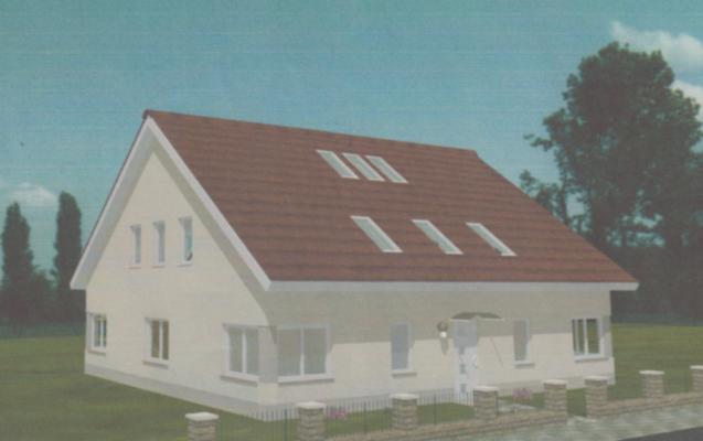Modell eines Eigenheims