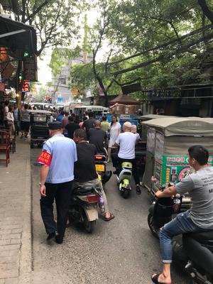 Verkehrschaos in Xi'an