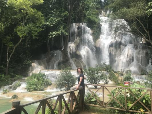 Kuang Si Wasserfall