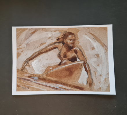 surfcard study for printmaking 02 FEB 2
