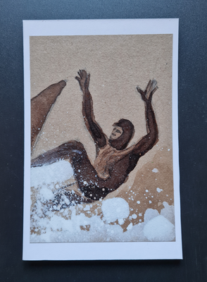 surfcard study for printmaking 20 FEB 3