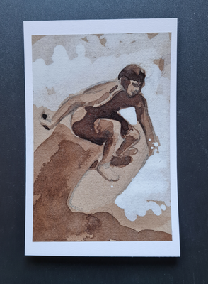 surfcard study for printmaking 20 FEB 5