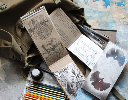 tarvel mood - sketchbooks landscape small and medium