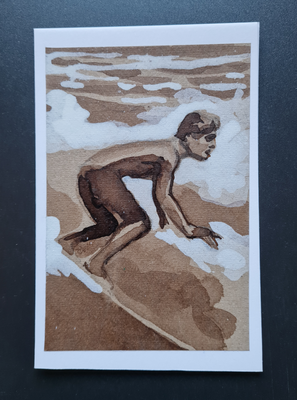 surfcard study for printmaking 20 FEB 1