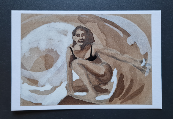 surfcard study for printmaking 09 FEB 4