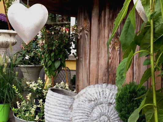 Impressionen, Blumenladen, Petite Fleur, Dekoration, Herz