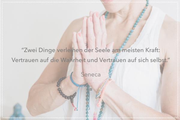 hello-balance: Zwei Dinge verleihen der Seele am meisten Kraft: Vertrauen auf die Wahrheit und Vertrauen auf sich selbst. Seneca