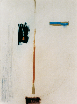 Portrait, encre sur papier Arches, 57x76 cm, 1995