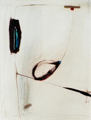 Dire, encre sur papier Arches, 57x76 cm, 1995
