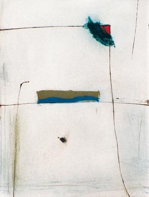 Corps, encre sur papier Arches, 57x76 cm, 1995