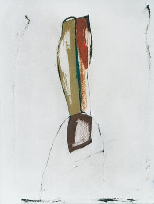 Toi, encre sur papier Arches, 57x76 cm, 1995