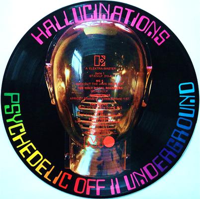 Weltweit die 1. Pictue Disc aus dem Bereich  POP(Rock)-Musik
