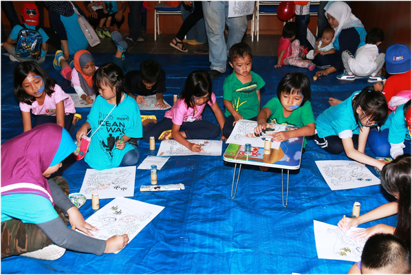 IOI MALAYSIA (FP): Colouring contest for children with the theme 'Healthy Oceans, Healthy Planet""