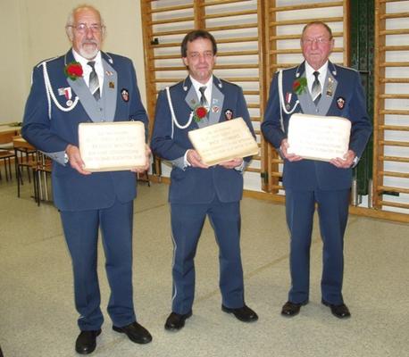 Veteranen 2010 v.l.n.r.: Walter Berger, Andreas Jost, Walter Frei