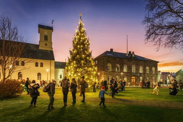 Christmas in Reykjavík - Copyright Ragnar Th. Sigurdsson / Visit Reykjavik