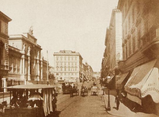 Roma, Palazzo delle Esposizioni 1890 circa