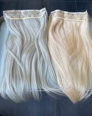 60 W Kühles weißblond und 60 Weißblond