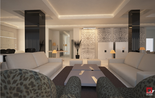 Roberto Cavalli home Interior Project by Marbella Interior Design