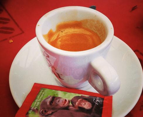 Café ist in Portugal Espresso.