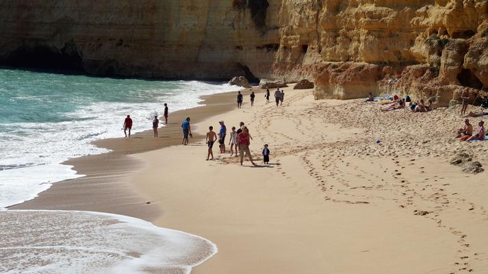 Algarve: Praia Vale Centianes