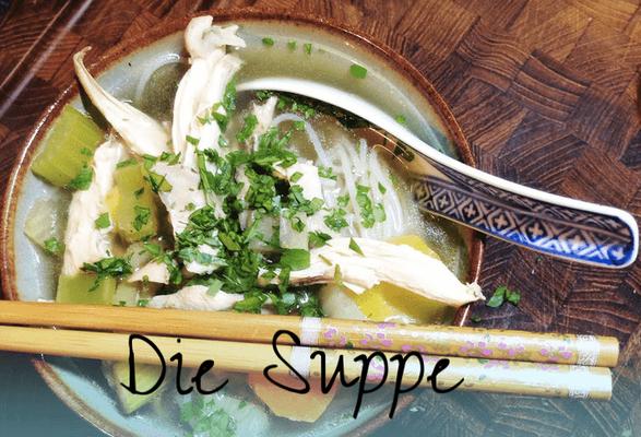 Phở Gà: Die Suppe