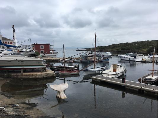 Stintinos Hafen - einer von zweien