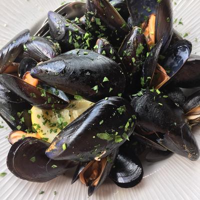 Restaurant Lina: Muscheln als Vorspeise