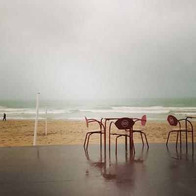 Carcavelos - bei Regen