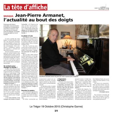 Le Trégor. 15 Octobre 2015