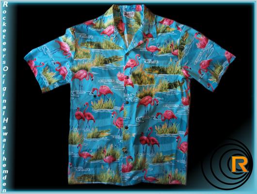 Original Hawaiihemden  Rocketeers  Hawaiihemd Herren