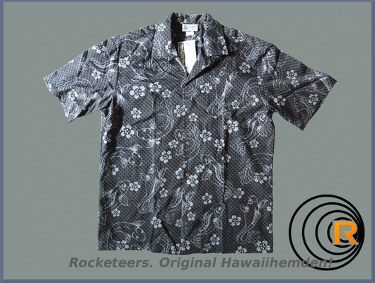 Original Hawaiihemden  Rocketeers  Hawaiihemd Herren