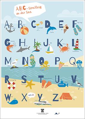 ABC-an-der-See-Plakat