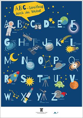 ABC-Weltall-Plakat