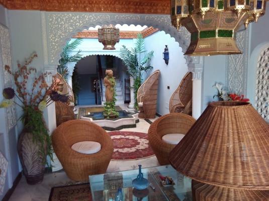 Villa La Calas de Mijas Costa del Sol Andalusien Patio