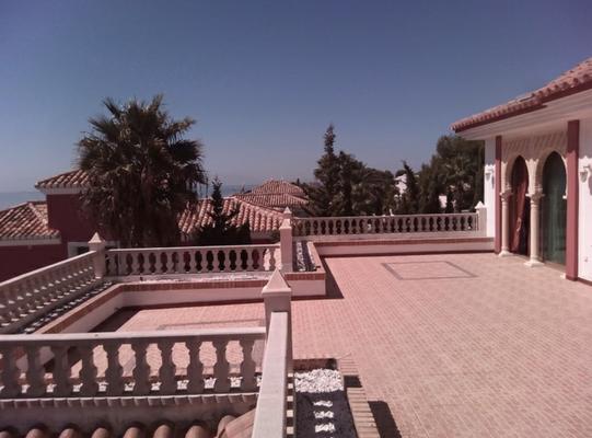 Villa La Cala de Mijas Costa del Sol Andalusien Terrasse OG