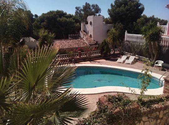 Villa La Calas de Mijas Costa del Sol Andalusien Pool und Garten