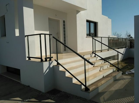 Chalet Neubau Torre del Mar Eingang