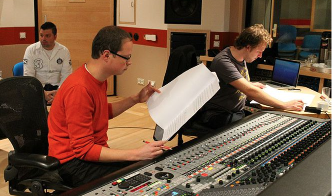 Sushi Must Marry Scoring Session @ Galaxy Studios with Engineer Patrick Lemmens - Matthijs Kieboom